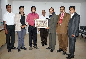 Felicitation by Kolhapur Medical Association