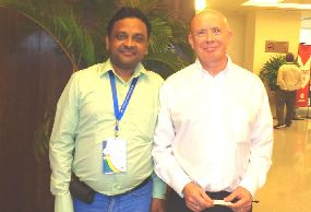 With Dr. Kevan Wylie (UK)