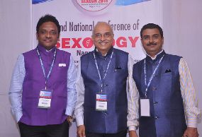 With Dr. Narayana Reddy & Dr. Sanjay Deshpande
